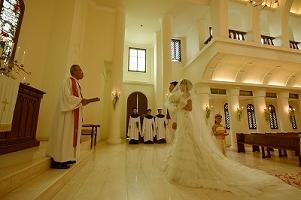 サントミカエル教会 西洋式挙式の画像41