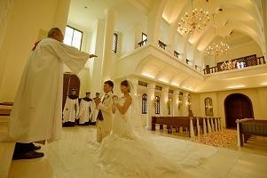 サントミカエル教会 西洋式挙式の画像57
